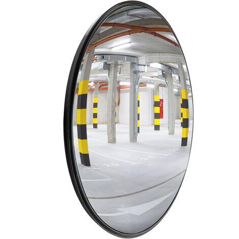 PrimeMatik - Sécurité miroir convexe surveillance intérieur 30cm