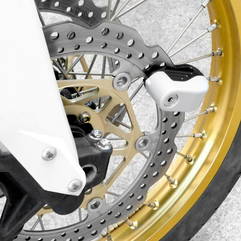 Veicoli Elettrici Sicurezza Rotore Disco Freno Serratura della Ruota per Moto Bicicletta Ebestus Mini Lucchetto per Bici Anti-Scasso Bicicletta Catena