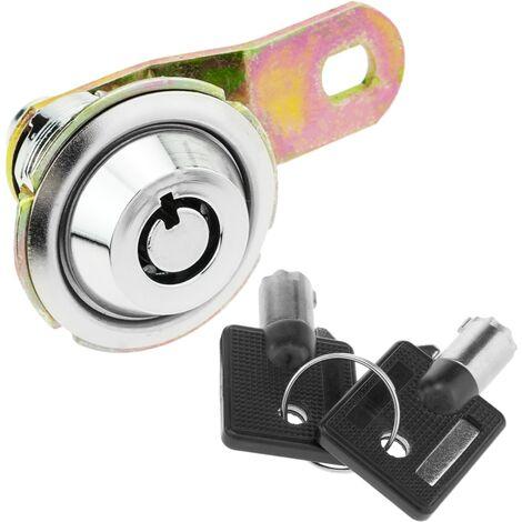 PrimeMatik - Serrure à came de 42 mm x M18 avec clé tubulaire