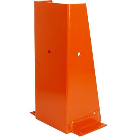 "PrimeMatik - Shelving protective metal type ""U"" 17x16x40cm"