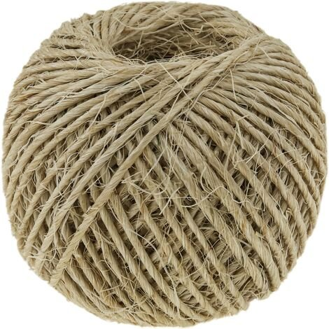 PrimeMatik - Sisal twine 1 strand 60 m x 2 mm natural