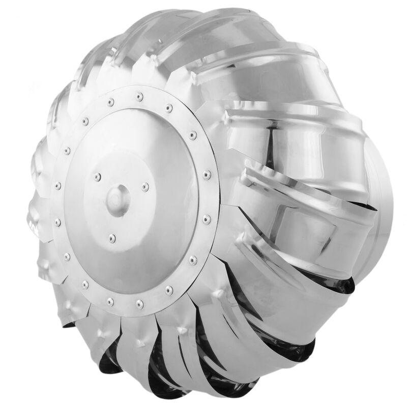 PrimeMatik Sombrero Extractor de Humos galvanizado Giratorio para Tubo de 200 mm de di/ámetro