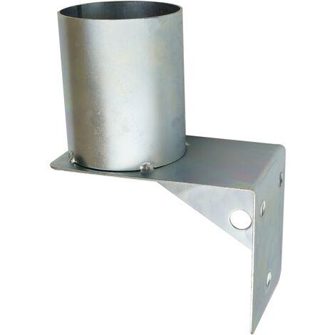 PrimeMatik - Soporte de pared para espejo convexo de seguridad 75mm