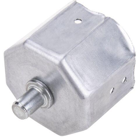 PrimeMatik - Soporte metalico para eje de persiana de 60mm