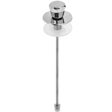 PrimeMatik - Tirador de cisterna WC recto para tanque bajo