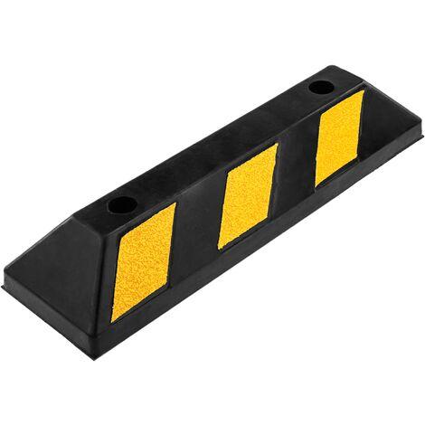 """main image of """"PrimeMatik - Tope de suelo para ruedas de parking aparcamiento de goma 55 cm"""""""