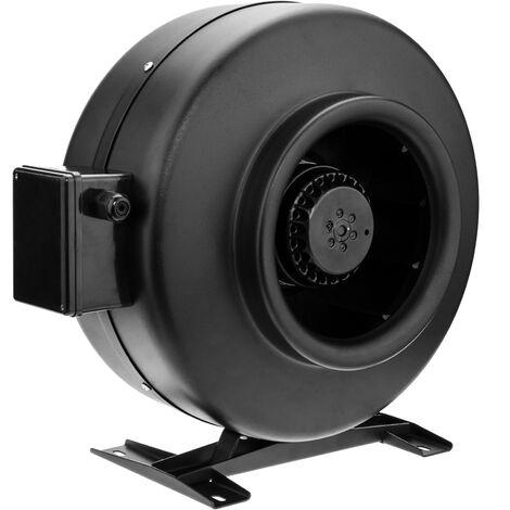 PrimeMatik - Tube fan for 200 mm diameter. In line duct extractor for industrial ventilation