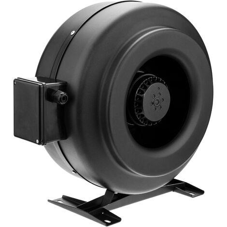PrimeMatik - Tube fan for 250 mm diameter. In line duct extractor for industrial ventilation