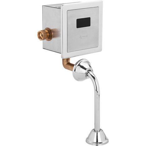 PrimeMatik - Válvula de descarga automática por infrarrojos para inodoro WC con entrada de agua horizontal