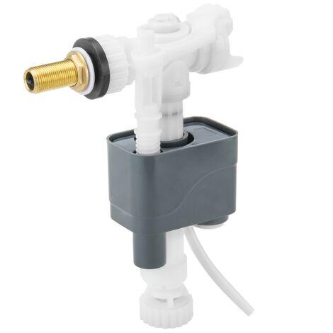 """PrimeMatik - Válvula de flotador para cisterna universal con entrada vertical o lateral 3/8"""""""