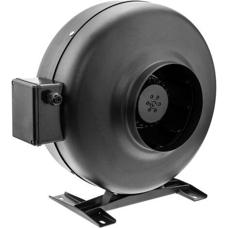 PrimeMatik - Ventilateur de tube de 150 mm. Extracteur de conduit en ligne pour ventilation industrielle
