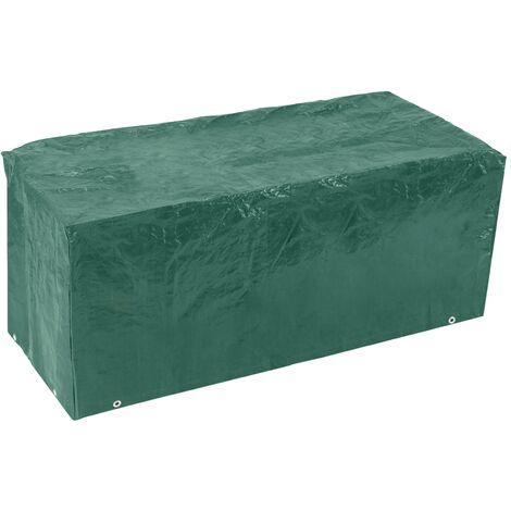 PrimeMatik - Waterproof protective cover for garden bench 163x89x66cm