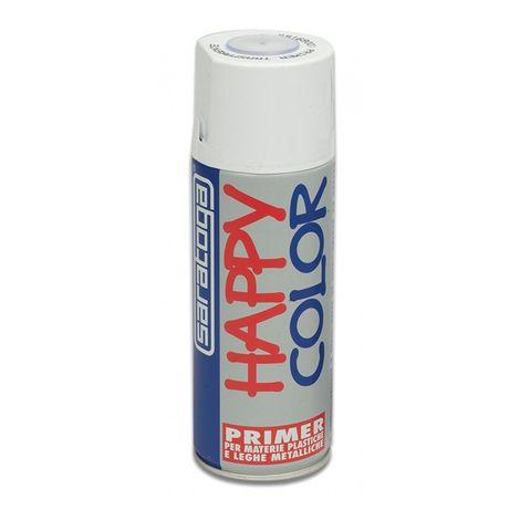 Primer happy color 400ml bomboletta trasparente per superfici difficili