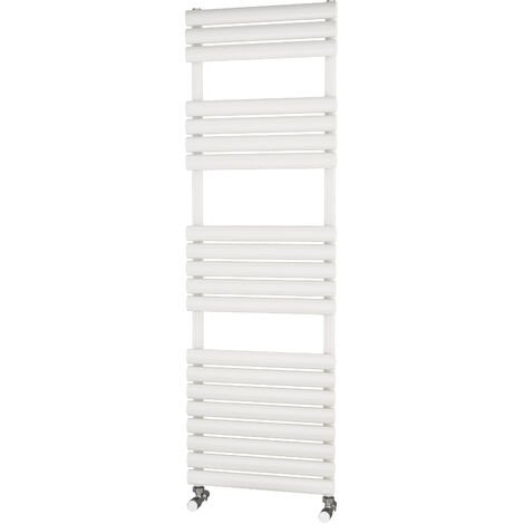 Primus Eclipse White Designer Towel Rail 1600mm x 500mm - Electric Only - Standard