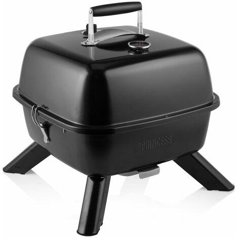 "main image of ""Princess Gril barbecue hybride portable 2000 W Noir"""