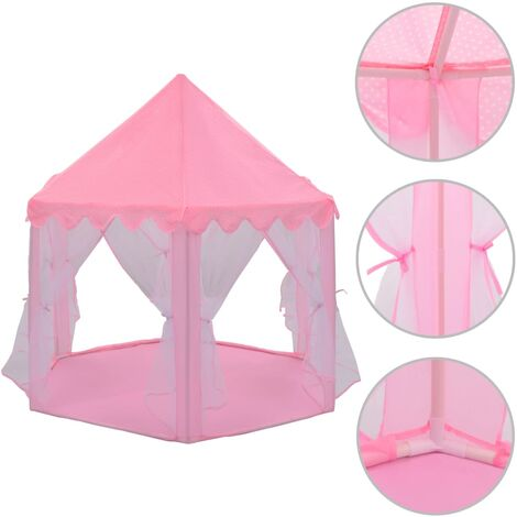 Princess Play Tent Pink - Pink
