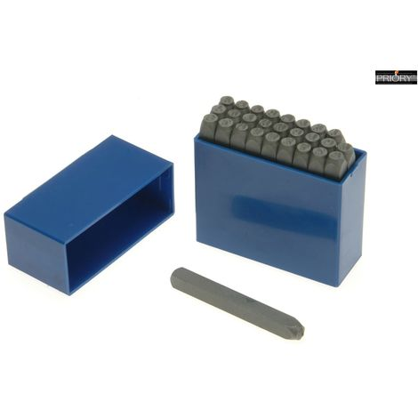PRIORY 181-10.0MM SET LETTER PUNCHES 3/8IN