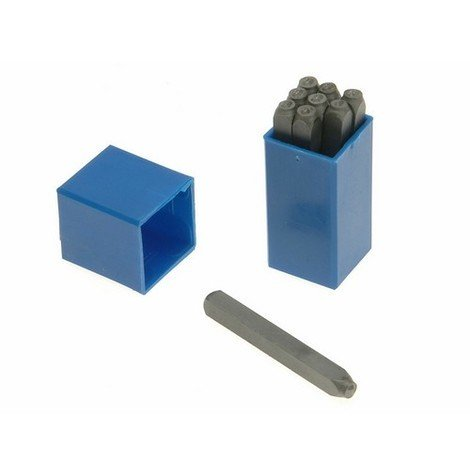 Priory PRI18025 180- 2.5mm Set of Number Punches 3/32in