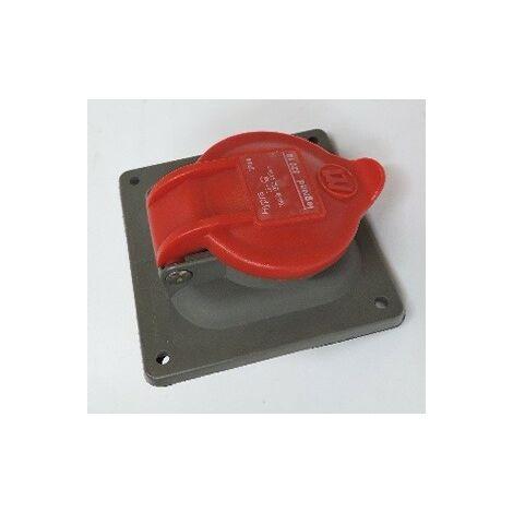 Prise à entraxes unifiés Hypra IP44 16A 380V~ à 415V~ 2P+T plastique LEGRAND 052218