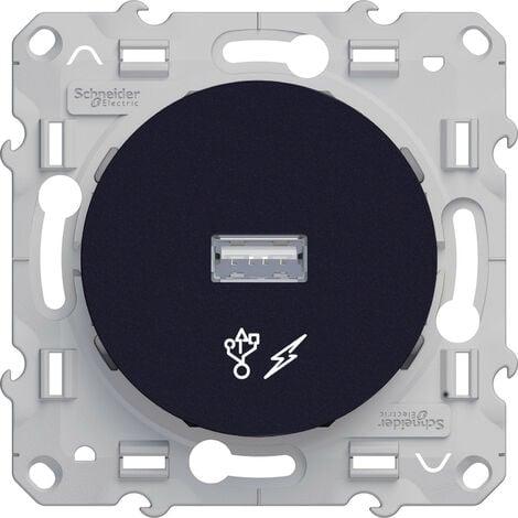 Prise alimentation USB 5V Anthracite Schneider Electric Odace