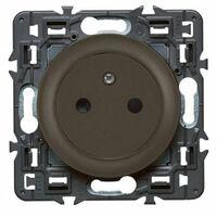 Prise borne automatique Complet Céliane Surface Affleurante - 2P+T 16A - Graphite