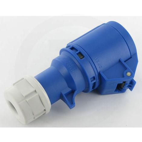 Prise CEE 220V bleue