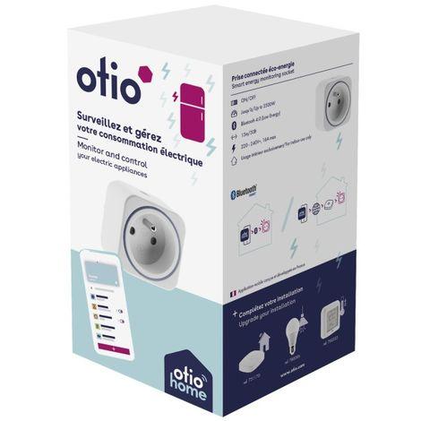 Prise connectée éco-énergie Bluetooth - Otio