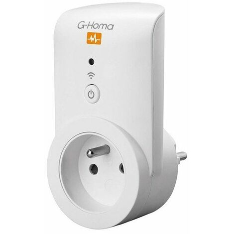 Prise controle consommation g-homa ref.7780