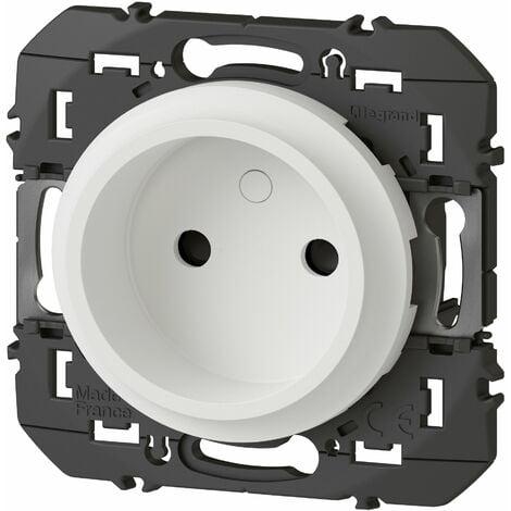 Prise de courant - 2P - À puits - Dooxie - 16A - Blanc - Legrand