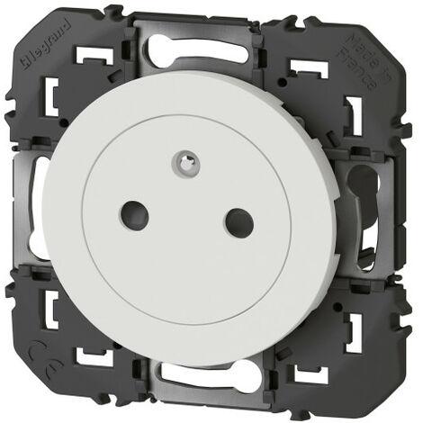 Prise de courant - 2P+T - Affleurante - Dooxie - 16A - Blanc - Legrand