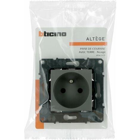 Prise de courant Altège 16A - Connexion à borne automatique - Nuage - Bticino
