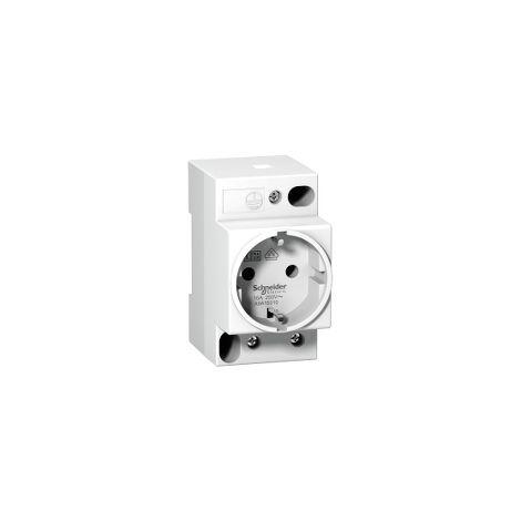 Prise de courant modulaire 16A 2P+T standard allemand 250V - A9A15310
