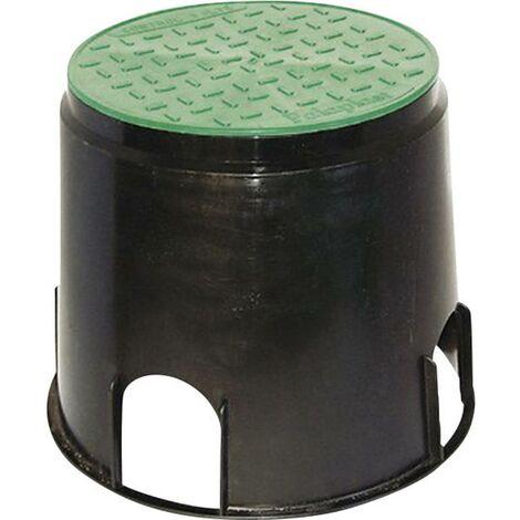 Prise de sol à encastrer Heitronic 21036 noir, vert