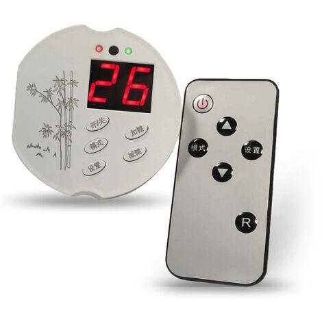 Prise de thermostat electronique Temperature reglable Commutateur de controle de temperature 02