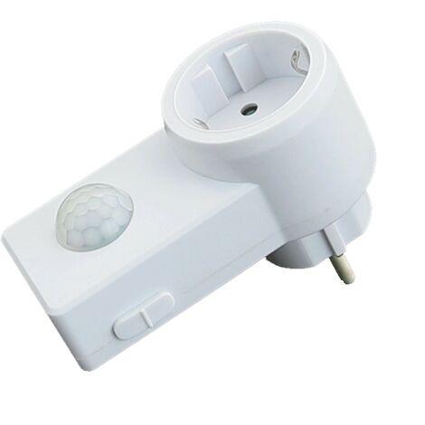 """main image of """"Prise électrique avec capteur de mouvement 120° IP20"""""""