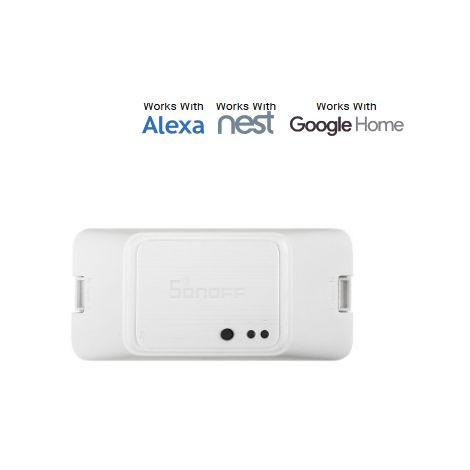 Prise en charge des commutateurs WiFi SONOFF? RF R3 Smart ON / OFF APP / 433 Telecommande RF / LAN / vocale Le mode DIY fonctionne avec Alexa Google Home