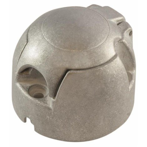 Prise femelle aluminium 12 V 7 plots