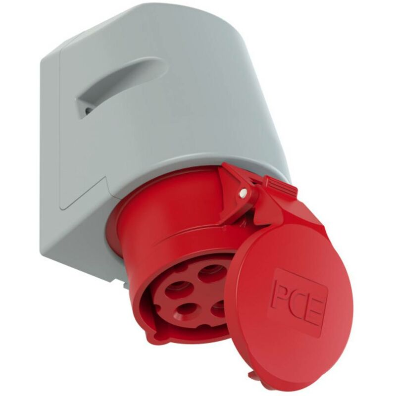CEE prise murale 5 broches 400 V 16 A ip44 CEE-wanddose électrique PCE 115-6
