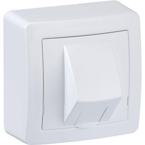Prise RJ45 Alréa - Catégorie 6 - UTP - Blanc