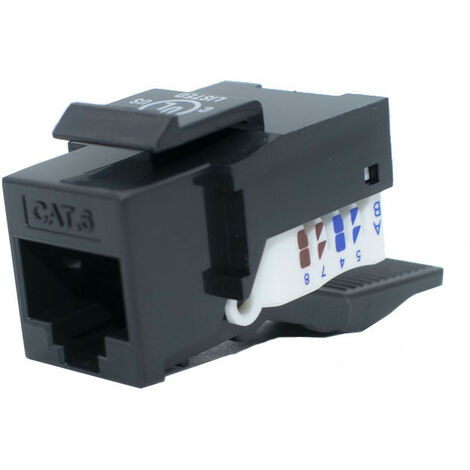 Prise RJ45 Orca CAT 6 UTP sans outillage 8 Positions 233140-00