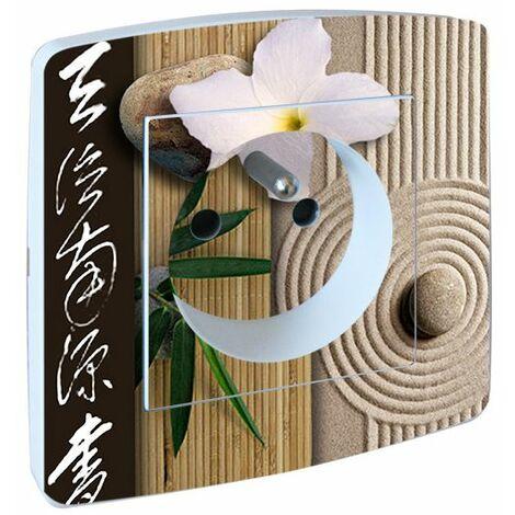 Prise Salle de Bain Fleurs Zen Ambiance Japonisante