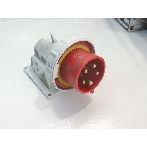 Prise socle 32A 3P+N+T 380/415V mâle plastique connecteur P17 étanche IP66/67 LEGRAND 056828