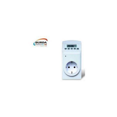 Prise thermostat avec minuterie Thermo Timer Eberle/ chauffage électriq BURDA - BHCITCTI.