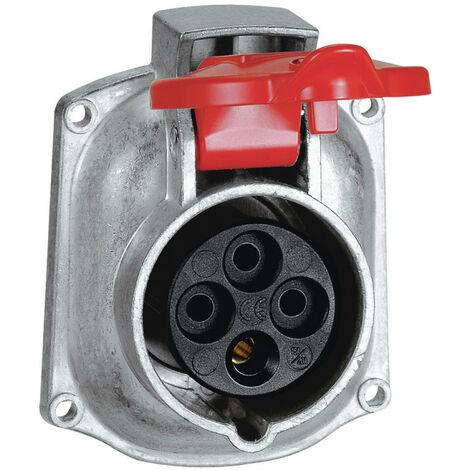 Prise transfert direct Hypra 16A pour remplacement Martin Lunel 16A 3P+T 380V~ à 415V~ métal (052193)