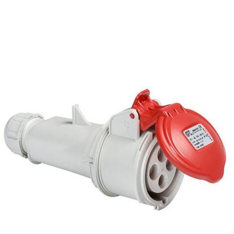 Prise triphasée femelle 16A IP44
