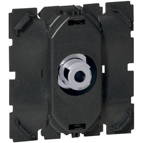 Prise TV Céliane simple Type F à visser - Compatible 4G et LTE - Legrand