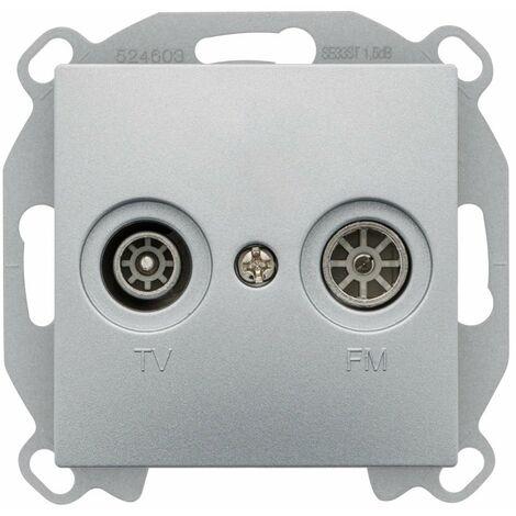 Prise TV / FM Silver Siemens DELTA VIVA - SIEMENS