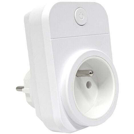 "main image of ""Prise wifi 15A compatible Google Home et Amazon Alexa - Wizelec"""