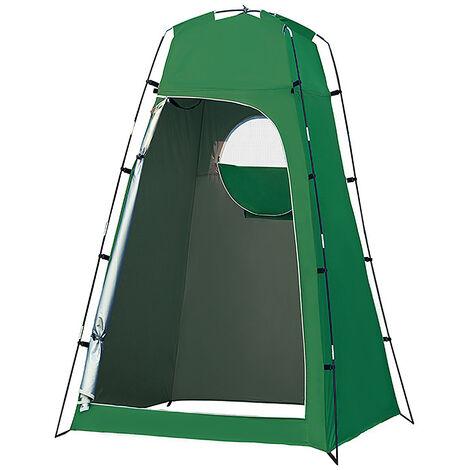Privacidad abrigo de la tienda portatil plato de ducha al aire libre Changing Room Tienda con fondo desmontable para Camping Playa de fotografia, verde caqui