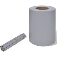 Privacy Fence Weave Roll PVC Light Grey 70 x 0.19 m